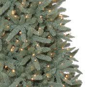 pre lit artificial christmas trees time pre lit 7 5 birchwood fir artificial christmas tree
