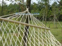 2017 outdoor mesh hammock hand made cotton stick hammock hammock