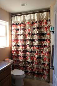 Vertical Ruffle Curtains by 85 Best Ruffle Shower Curtain Images On Pinterest Ruffled Shower