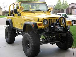 jeep yellow new to forum my yellow monster jeep wrangler ideas pinterest