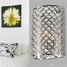 Bedroom Wall Sconce Lights Crystal Wall Sconce Light Fixture Online Crystal Wall Sconce