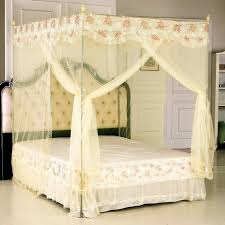 White Bed Canopy Transforming Your Bedroom Using Luxury Canopy Beds Decor Around