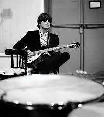 john lennon with his 12 string 1964 rickenbacker 325 12 jet glo