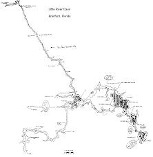 Terminus Cave Map Caveatlas Com Cave Diving United States Little River