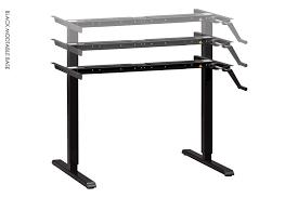 ikea manual standing desk modtable manual base standing desk height adjustable desk