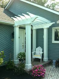 pergola over front door entrance designs bedroom amusing awning