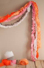 where to buy crepe paper sheets best 25 crepe paper garland ideas on tissue garland