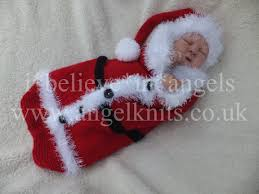 lovely little christmas santa cocoon knitting pattern available