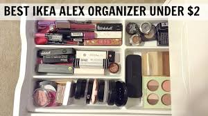 best ikea alex 5 drawer organizer under 2 youtube