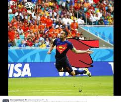 Van Persie Meme - robin van persie virals have flying dutchman as superman wwe