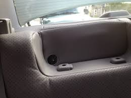 how to remove the rear seat and subwoofer in a lexus ls 430 the