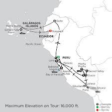 Galapagos Map Galapagos Islands Vacations From Monograms