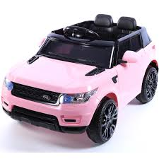 jeep pink mini hse range rover style electric 12v child u0027s ride on jeep