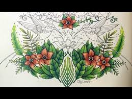 magical jungle tropical paradise part 2 coloring book