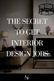 interior design receptionist jobs london