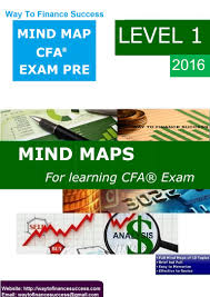 free mind maps cfa exam pre level 1 2016