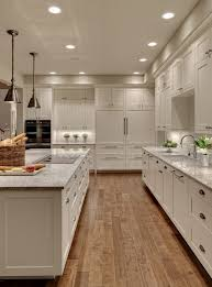 Transitional Kitchen Ideas - transitional kitchen designs with curved range hood shaker base