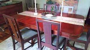 Duncan Phyfe Dining Table Worth by 1940 U0027s Duncan Phyfe Table And Sideboard Asheville Youtube
