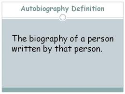 biography definition and characteristics biography vs autobiography teaching resources teachers pay teachers