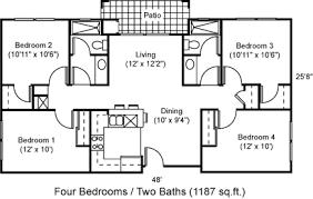 four bedroom q1 4 bedroom apartment q1 resort gallery bachelor flat floor plans