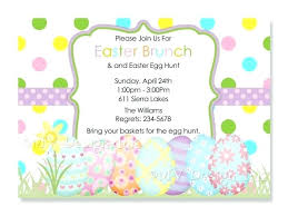 brunch party invitations easter egg hunt invitations and number 5 egg polka dots easter egg