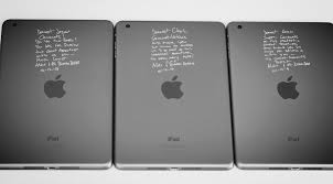 personalized engraving personalized notes engraved on to ipads in a flash laser