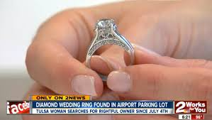 10000 engagement ring tulsa doctor is on a mission to find rightful owner of diamond