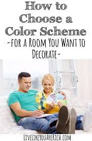 how to choose a color scheme for a room decorating room and