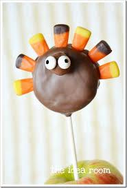 thanksgiving turkey treats oreo pops the idea room