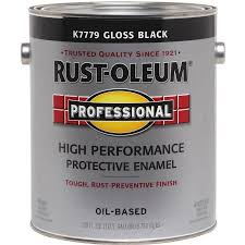rust oleum professional high performance protective enamel gallon