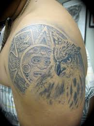 aztec eagle tattoo on shoulder photo 2 photo pictures and