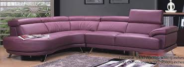 purple leather sectional purple sectional sofas you ll love