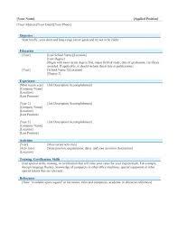 resume templates for docs docs resume imcbet info