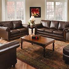 sleeper sofa san diego amazon com simmons upholstery 8001 san diego bonded coffee leather