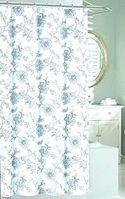 Blue And White Floral Curtains Floral Shower Curtains Unique Floral Shower Curtain Floral Print