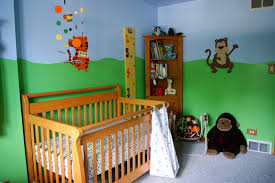 Jungle Nursery Curtains by Living The Diy Lifestyle Jungle Nursery Painting The Room