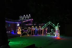Words With Light In Them A Driving Tour Of Christmas Holiday Lights In South Metro Denver