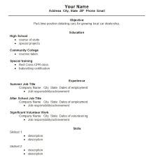 high school resume exles no experience professional experience resume exles exles of resumes