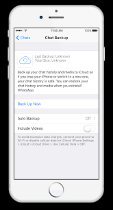 icloud backup for android whatsapp faq restoring your chat history