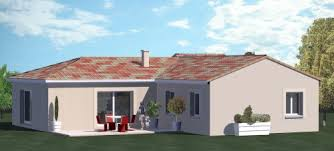 plan de maison plein pied gratuit 3 chambres construction 86 fr plans pour maison plain pied de type