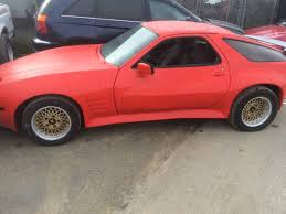 1989 porsche 928 widebody runner 800 1981 porsche 928 bring a trailer