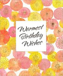 warmest wishes photo card warmest wishes birthday card by freedom greetings