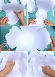 printable large flowers free printable large flower stencils download and print large paper