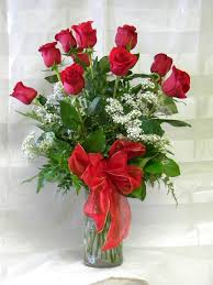 Flower Shops by Long Stem Red Roses By Real Flower Shops In Pasadena Tx
