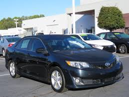 certified used 2013 toyota camry i4 auto se for sale charlotte nc