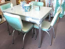 1950s dining room furniture kitchen table diner interior vintage