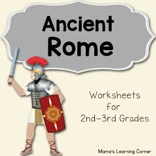 ancient rome worksheet packet for 1st 3rd graders mamas learning