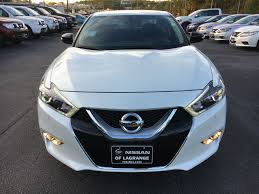 white nissan 2017 2017 nissan maxima sr midnight edition pearl white nissan of