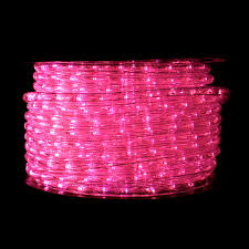 pink led rope light festive lights