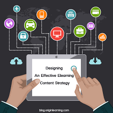 e learning strategy template content elearning learning